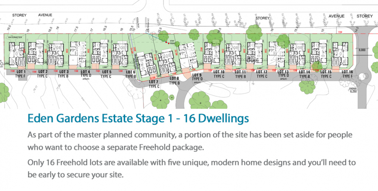 The 'Brierly' - Freehold house and land package