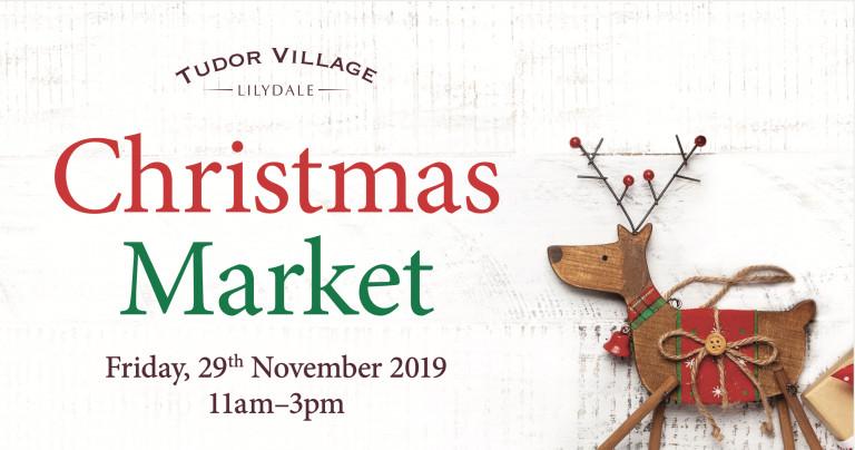 Join us at the Tudor Village Christmas Market!