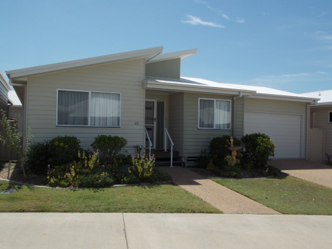 Come live in our Over 50's Resort- Neat 2 Bedroom home.