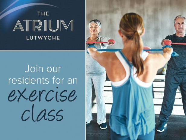 Exercise classes   The Atrium Lutwyche