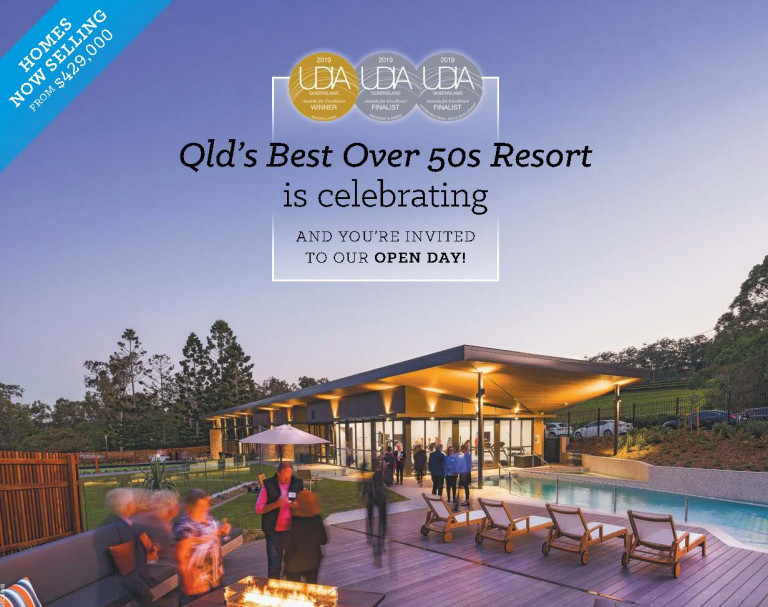 QLD'S Best Over 50s Resort is Celebrating with an Open Day
