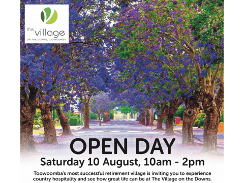 OPEN DAY - SATURDAY 1OTH AUGUST - 10:00AM TO 2:00PM