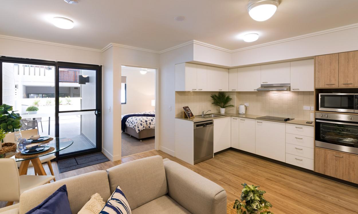 Brand new, one bedroom plus study 22 Hood Street - Sherwood 4075 Retirement Property for Sale