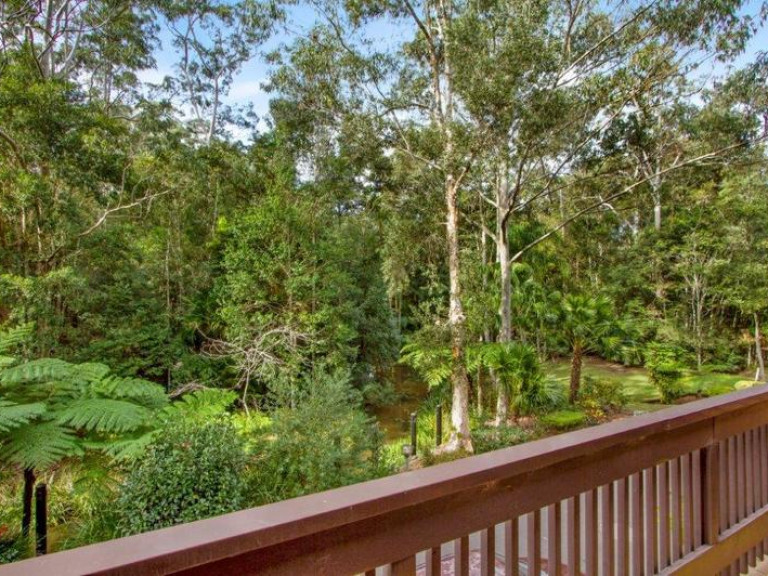 Superb unit with views over the local lush rainforest