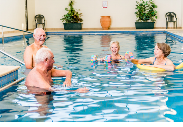 Resort style retirement living