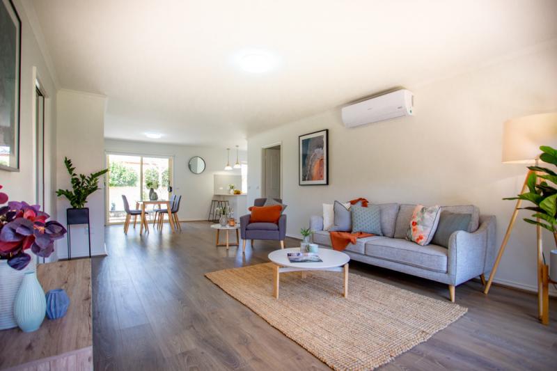 Gorgeous Villa-timber floors-stone benches-Burnside Retirement Village