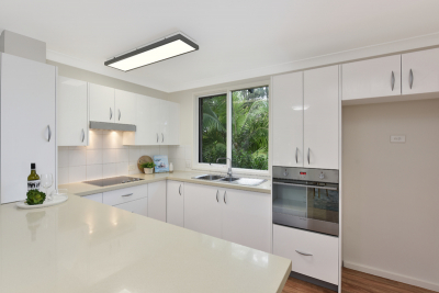 Renovated unit with beautiful park outlook