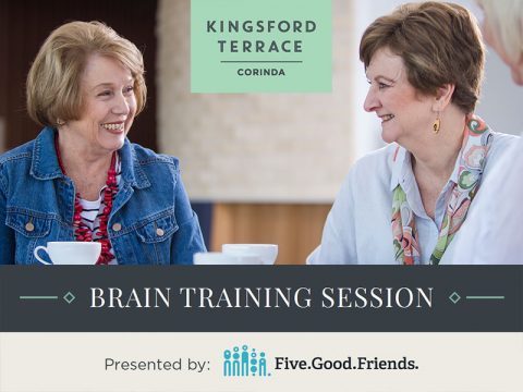Brain training session | Kingsford Terrace Corinda