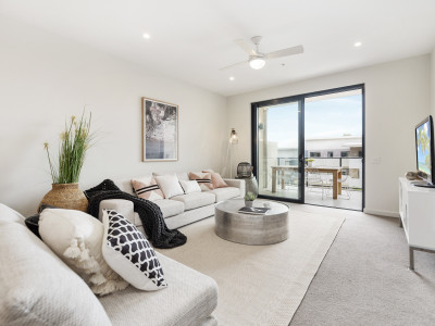 Enjoy stunning top floor views from this brand new home