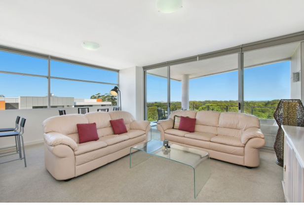 Two Bedroom Sub-Penthouse with City Views