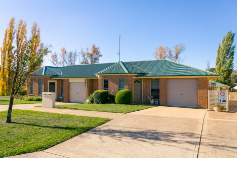 Conveniently located retirement living in the heart of Crookwell