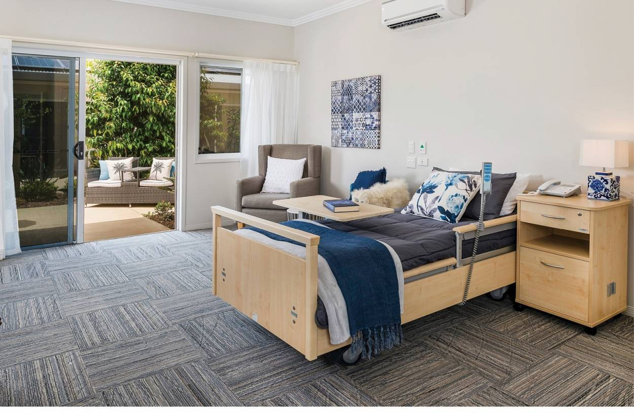 Palm Lake Care Bargara - Superior Single Suite with Private Ensuite  55 Wearing Rd - Bargara 4670 Retirement Property for Aged-care-facility