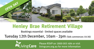 Living Care Henley Brae Open Day
