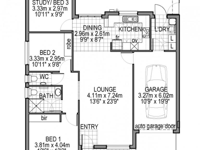 Brand New 3 Bedroom Villa.  Under Construction