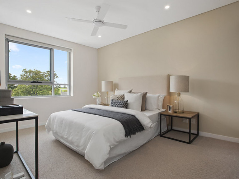The Gracewood Kellyville. 2 bed, 2 bath, 1 car. Available now.