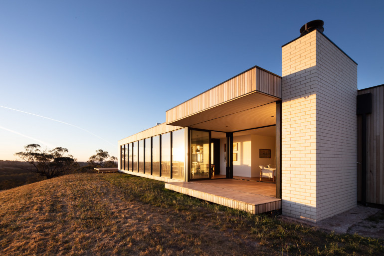 A modular home by Modscape based at a rural property in Central-Western NSW