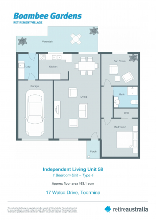 Soon to be refurbished Independent Living Unit