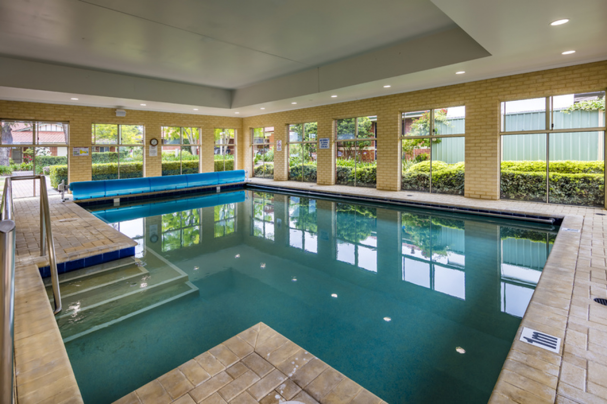 Newly renovated villa located close to the clubhouse and facilities