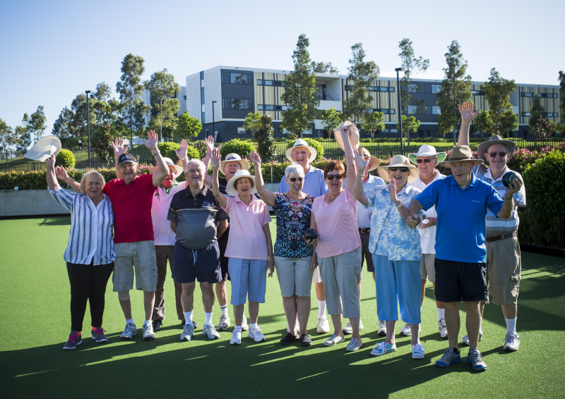 Starting a new chapter at Anglicare's Caddens Village