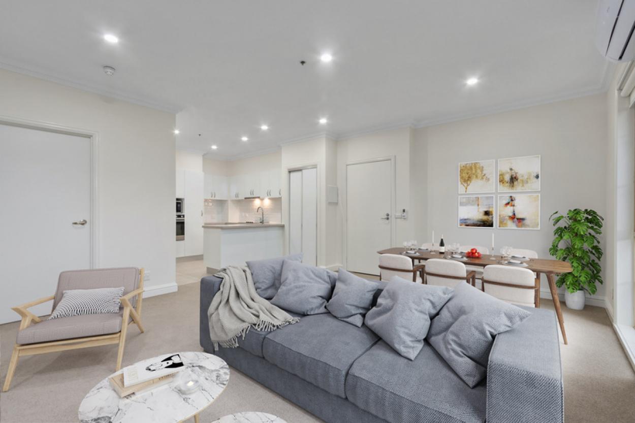 Spacious, open plan home