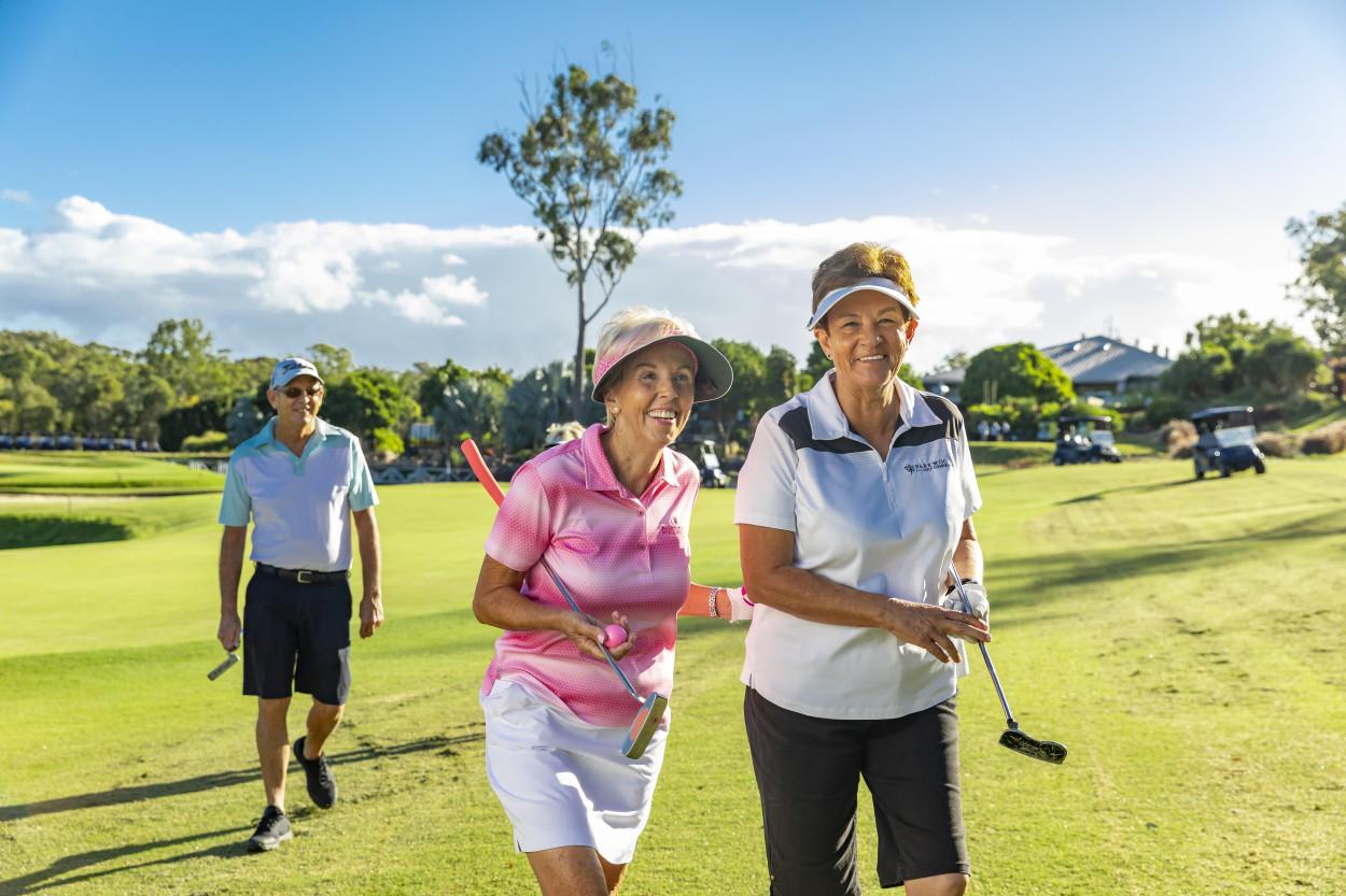 Golf Resort Retirement Living for the Un-retiring 76-122 Napper Road - Parkwood 4214 Retirement Property for Sale