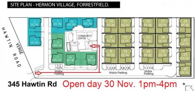 Visit our Open Day 30 November 1pm - 4pm. The ultimate secure retirement community.