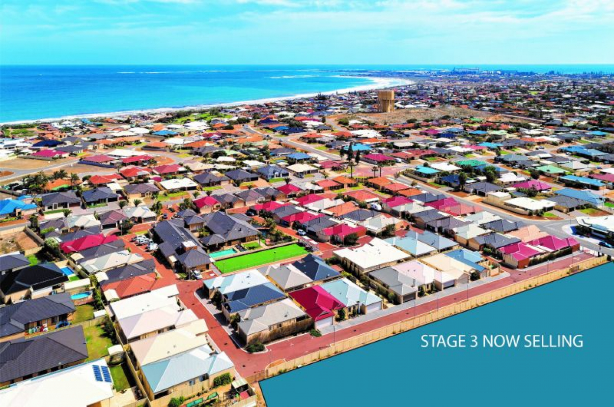 ARCADIA WATERS GERALDTON - New 'CANNES' Design in Stage 3