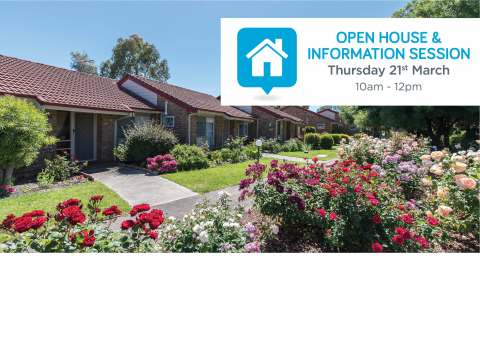 Come along to Tea Tree Gardens' open house and information session!