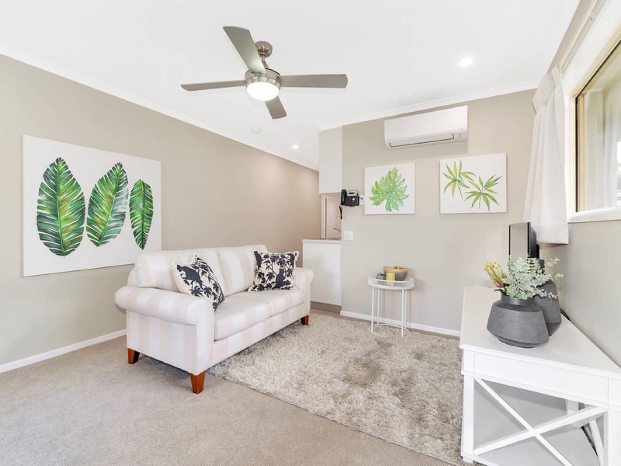 Cute and cosy apartment perfect for retirement living