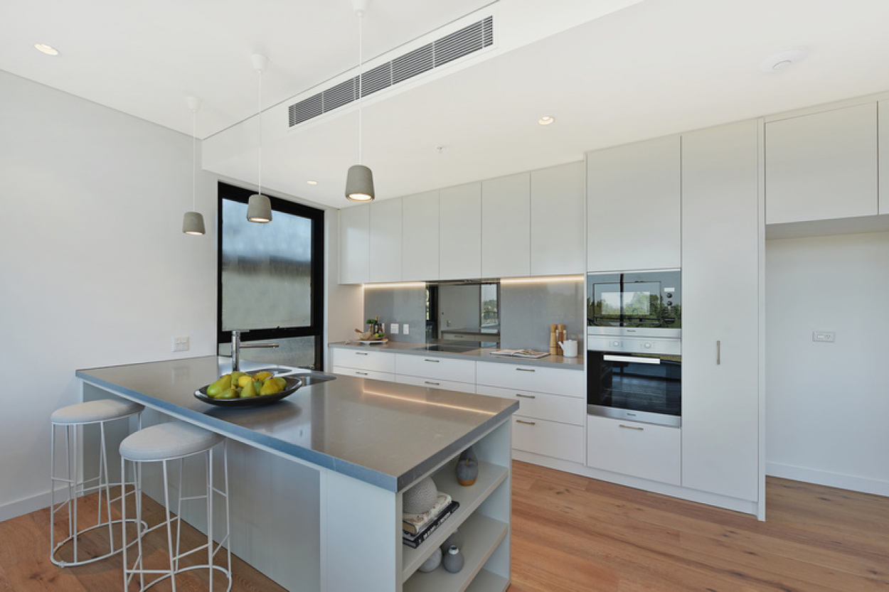 Well-appointed brand new two bedroom apartment