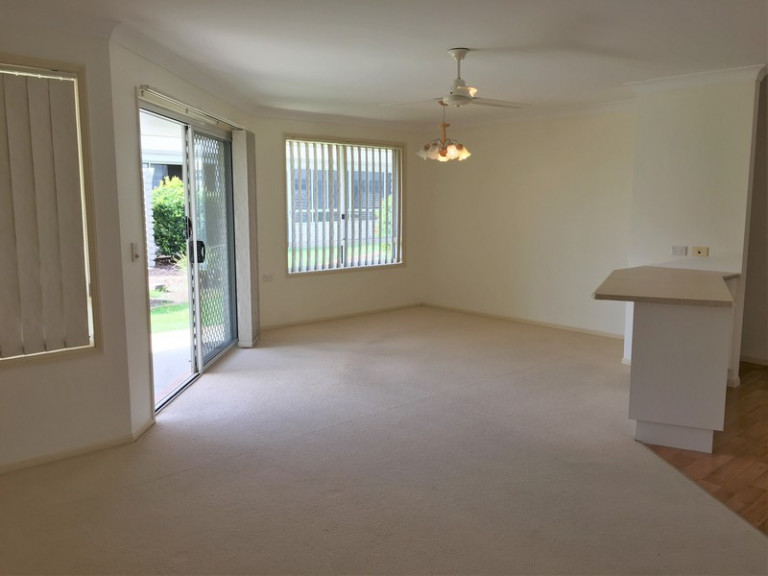 Enjoy this spacious, two-bedroom villa which has a wonderful layout, providing you with the bonus space you may like to use to pursue your hobbies.