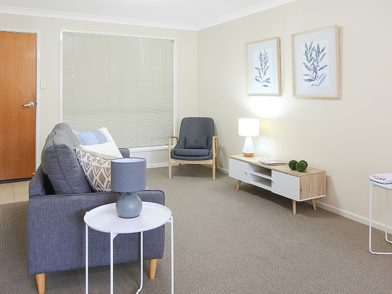 Centrally located retirement village