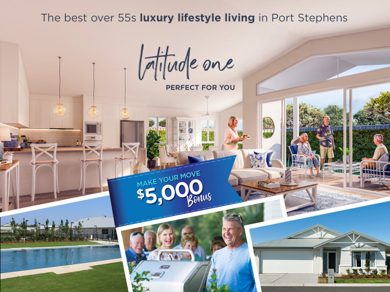 The best luxury living in Port Stephens