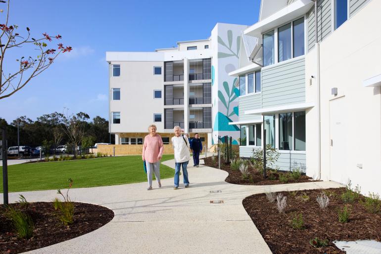 The new Capecare Dunsborough project