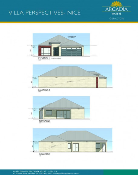 ARCADIA WATERS GERALDTON - New 'NICE' Design in Stage 3