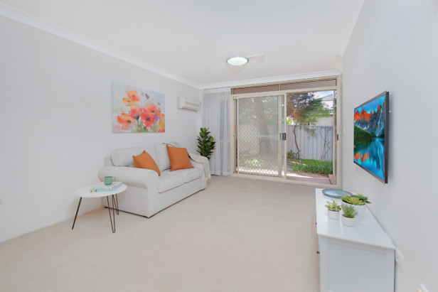 Retire in the Inner West. Fully refurbished retirement apartment.