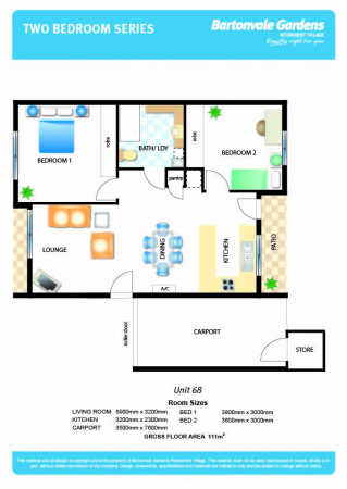 Spacious and modern unit in a friendly village setting