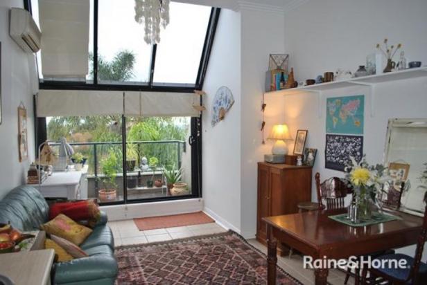 Modern Studio with Separate Bedroom Area