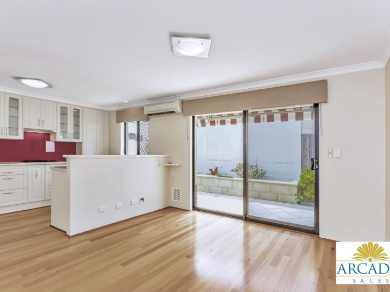 Solid Timber Floors & Feature Kitchen