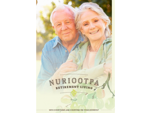 Brand new homes at Nuriootpa Retirement Living