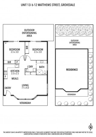 Spacious, open plan home with care