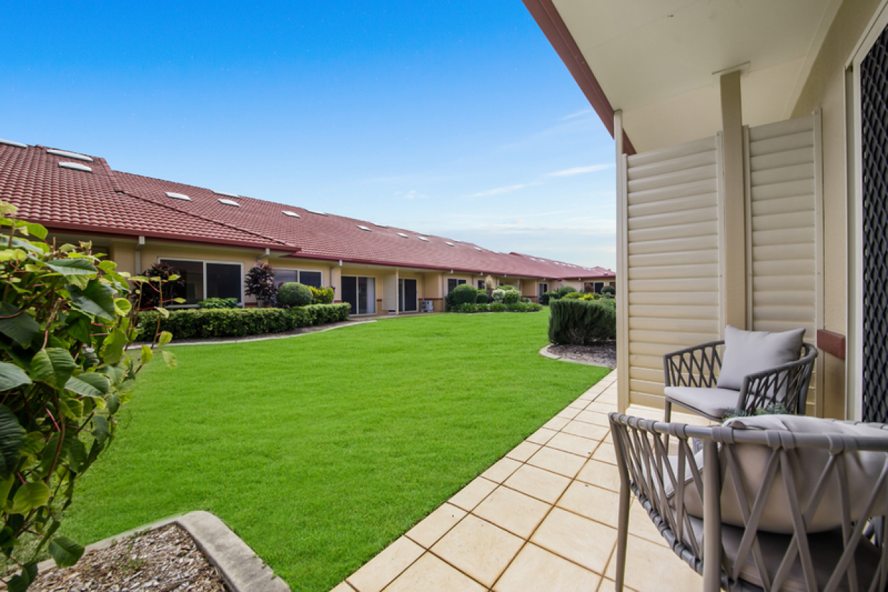 Retirement living in peaceful surrounds