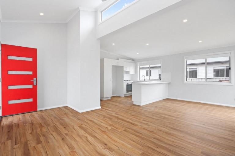 Suncoast's Shore Break design offers 3 bedrooms and 2 decks to enjoy!