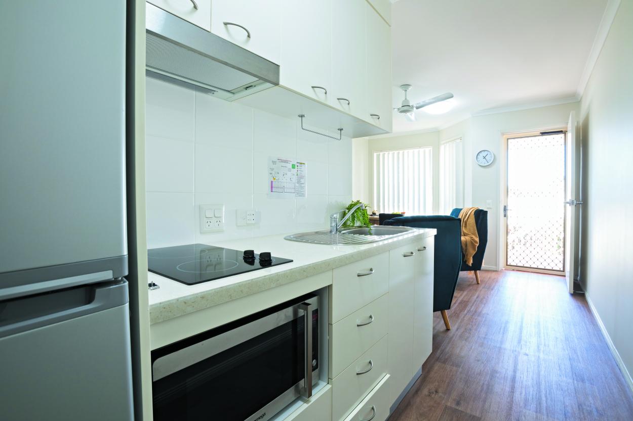 Affordable, one-bedroom island living 44  Melrose Avenue - Bellara 4507 Retirement Property for Rental