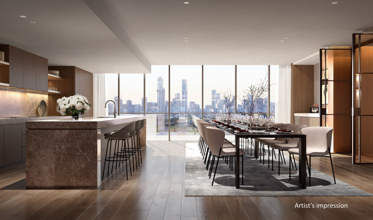 A life fully expressed with this luxury 3 bedroom apartment