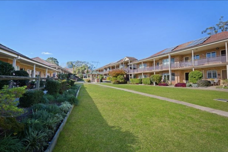 Spacious villas and apartments in leafy setting now selling.