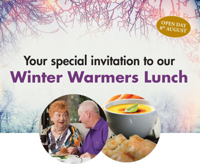 Embrace the warmth at next week's Retirement Living Open Day