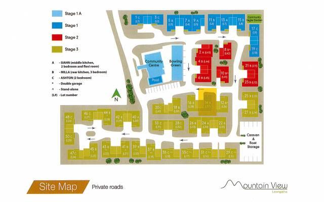 Villa 14 - Mountain View Leongatha - 3 Bedroom Single Garage - Display Villa