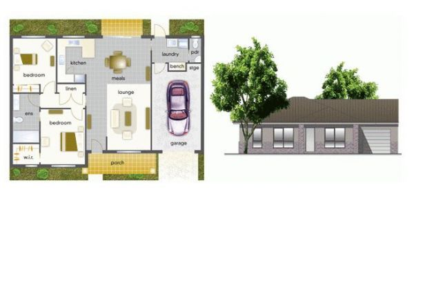 Villa 33 - Mountain View Leongatha - 2 Bedroom Double Garage - Yet to be built