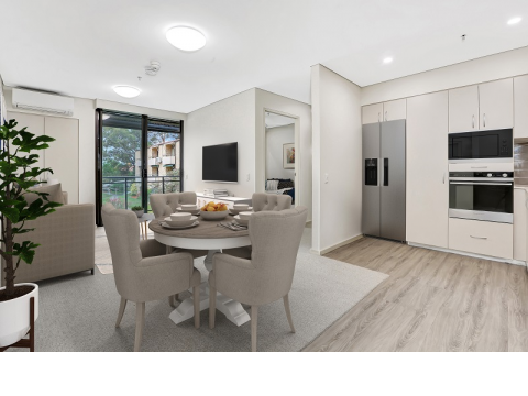 Newly renovated 2-bed unit in Castle Hill
